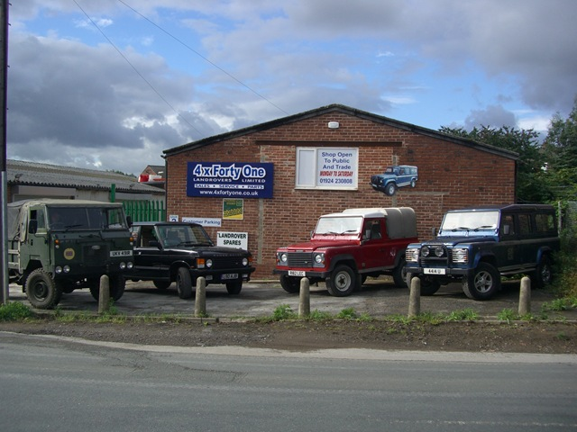 Land Rover sales, servicing and repairs