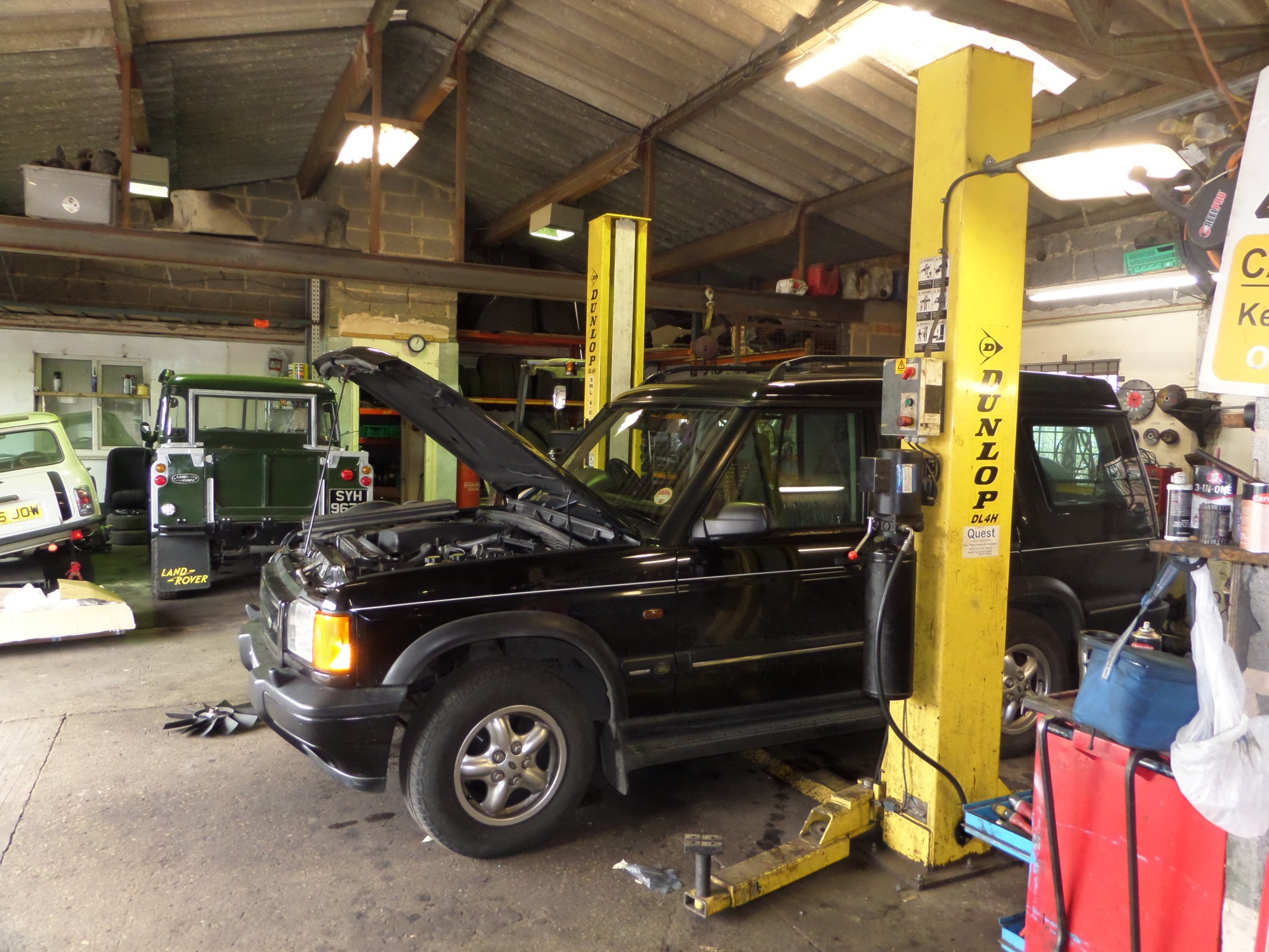 4xFortyOne - Independent Land Rover servicing